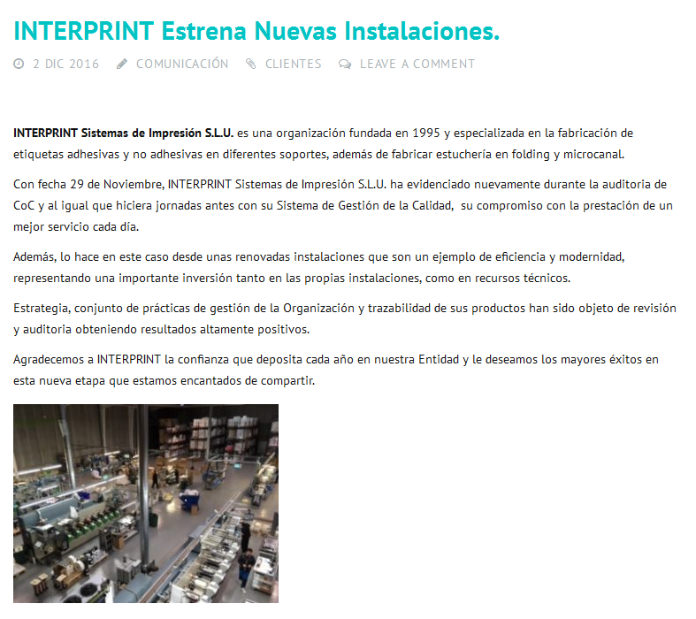 Mencion InterPrint BMTRADA
